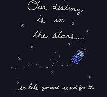 Doctor Who - Our Destiny Is In The Stars... by whatthefoucault