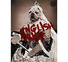 English pride Photographic Print