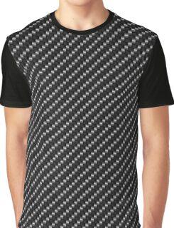 Carbon Fiber Black Graphic T-Shirt