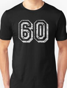 Jersey-Styled 60th Birthday T-Shirt T-Shirt