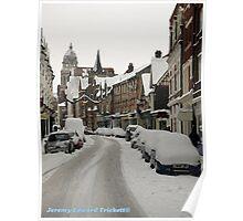 Eastbourne Snow Poster
