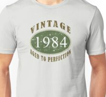 Vintage 1984, 30th Birthday T-Shirt Unisex T-Shirt