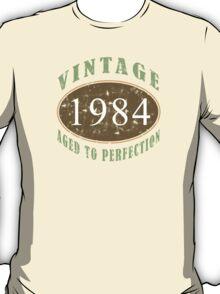 Vintage 1984, 30th Birthday T-Shirt T-Shirt