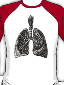 psychedelic lungs T-Shirt