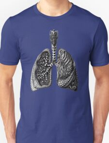 psychedelic lungs Unisex T-Shirt