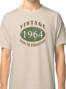 Vintage 1964, 50th Birthday T-Shirt Classic T-Shirt