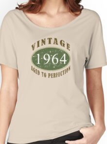Vintage 1964, 50th Birthday T-Shirt Women's Relaxed Fit T-Shirt