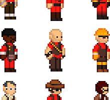 Red Team - TF2 - StarboundSprites by Jyles Lulham