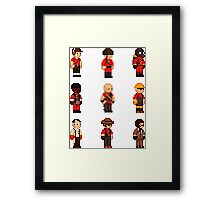 Red Team - TF2 - StarboundSprites Framed Print