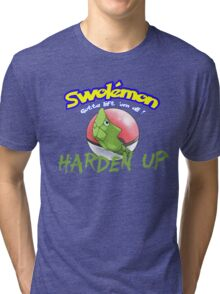 Pokemon - Harden Up Tri-blend T-Shirt