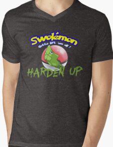 Pokemon - Harden Up Mens V-Neck T-Shirt