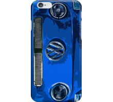 VW BLUE Illustration iPhone Case/Skin