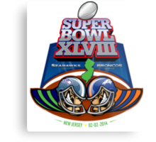 SUPER BOWL 2014 Metal Print
