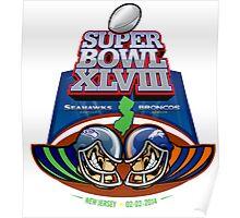 SUPER BOWL 2014 Poster