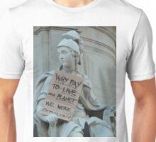 Philosophical Statues  Unisex T-Shirt