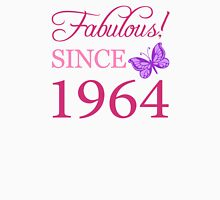 Fabulous Since 1964 Birthday T-Shirt Womens Fitted T-Shirt