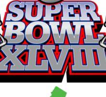 SUPER BOWL 2014 Sticker