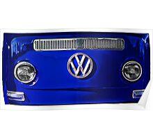 VW BLUE Poster