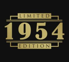 1954 Limited Edition T-Shirt by thepixelgarden