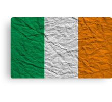 irish flag Canvas Print