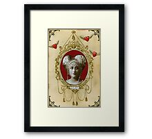 Valentine - Lady Treacle, Duchess of Marmalade Framed Print