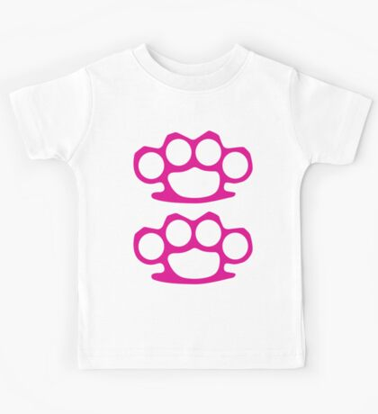 Two Pink Knuckles Kids Tee