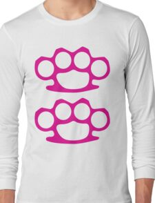 Two Pink Knuckles Long Sleeve T-Shirt