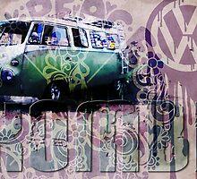 VW VOLKSWAGON - KOMBI by STUDIO 88 TARANAKI NZ