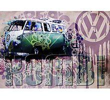 VW VOLKSWAGON - KOMBI Photographic Print