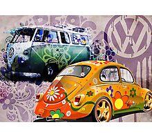 VW - Volkswagon Photographic Print