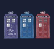 The Doctors' TARDISes Kids Clothes