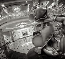 The Disney Prestige Collection:  Mademoiselle Minnie Mouse by Scott Smith