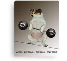 Weight Lifter Canvas Print