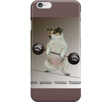Weight Lifter iPhone Case/Skin