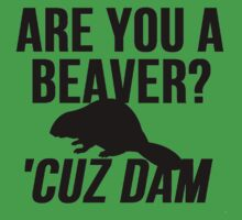 Are You A Beaver? Cuz Dam! by Alan Craker