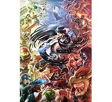 Smash 4 Bayonetta Reveal Illustration Photographic Print