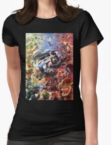 Smash 4 Bayonetta Reveal Illustration Womens Fitted T-Shirt