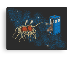 Wibbly Wobbly Noodley Woodley II Canvas Print