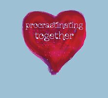 procrastinating together Womens Fitted T-Shirt
