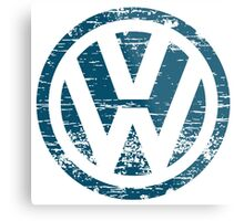 VW The Witty Metal Print