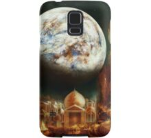 A City in Space, on a Moon the mass of Genemede... Samsung Galaxy Case/Skin