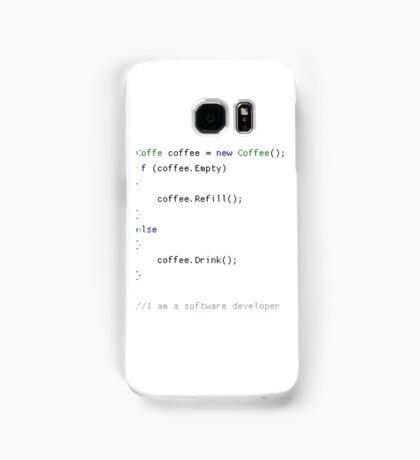 New Coffee() Samsung Galaxy Case/Skin