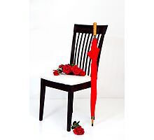 Charming Studio Chair Photographic Print