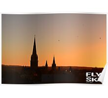 Cathedral Sunset  Poster