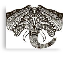the head of an elephant Canvas Print