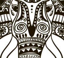 the head of an elephant Sticker