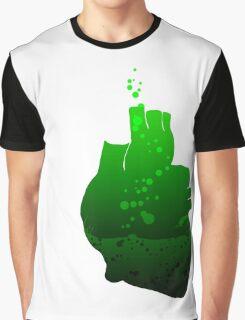 heart beats green Graphic T-Shirt
