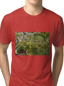Abstract art from Nature  Tri-blend T-Shirt