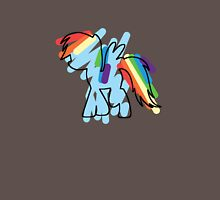 Rainbow Dash Scribble Unisex T-Shirt
