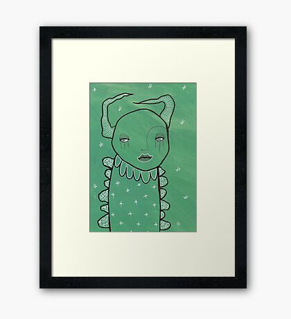 Illustrations 34 Framed Print